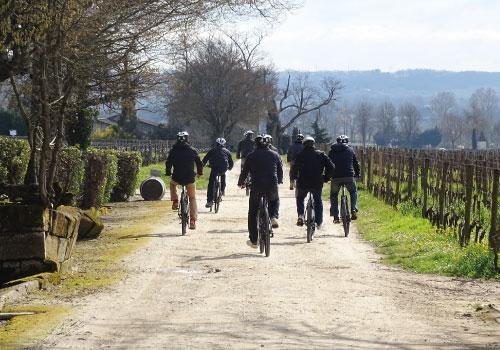 JOURNEE VELO & DEGUSTATION SAINT EMILION